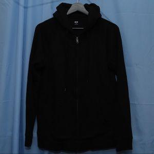Uniqlo Black Basic Hoodie